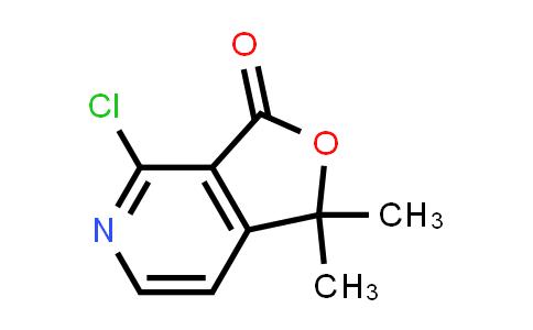 Furo[3,4-c]pyridin-3(1H)-one, 4-chloro-1,1-dimethyl-