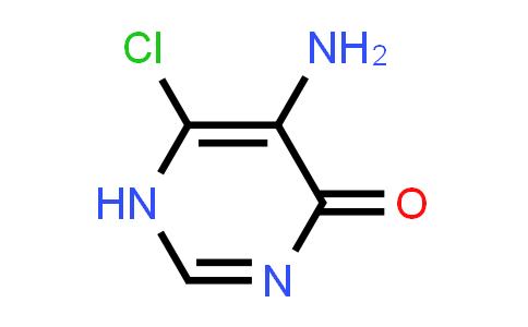4(1H)-Pyrimidinone, 5-amino-6-chloro- (9CI)