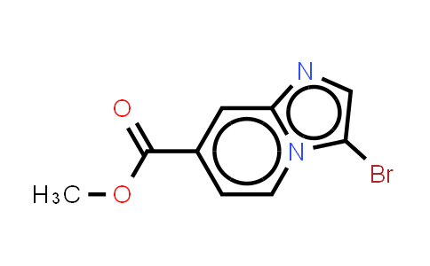 methyl 3-bromoH-imidazo[1,2-a]pyridine-7-carboxylate