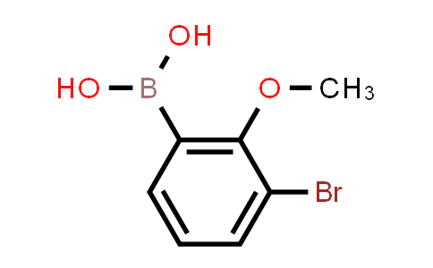 3-BROMO-2-METHOXYPHENYLBORONIC ACID