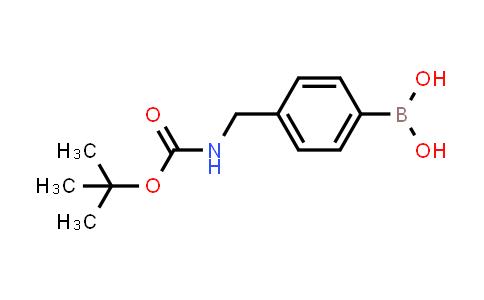 4-((N-BOC-AMINO)METHYL)PHENYLBORONIC ACID