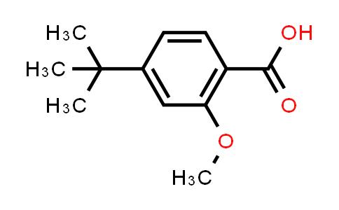 4-tert-Butyl-2-methoxybenzoic acid