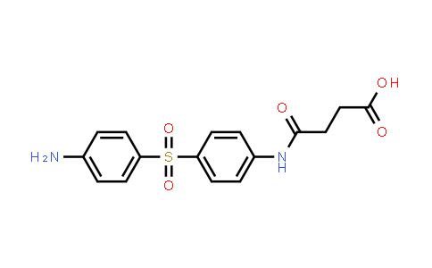 4-[[4-[(4-aminophenyl)sulphonyl]phenyl]amino]-4-oxobutyric acid