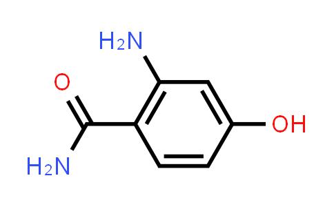 Benzamide, 2-amino-4-hydroxy- (9CI)