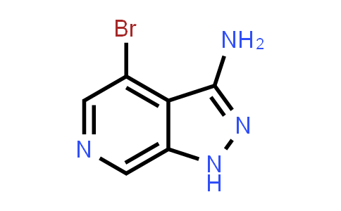 1H-Pyrazolo[3,4-c]pyridin-3-aMine, 4-broMo-