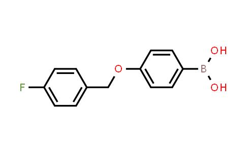 4-(4'-FLUOROBENZYLOXY)PHENYLBORONIC ACID