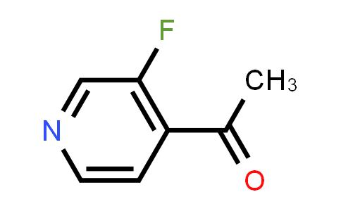 Ethanone, 1-(3-fluoro-4-pyridinyl)- (9CI)