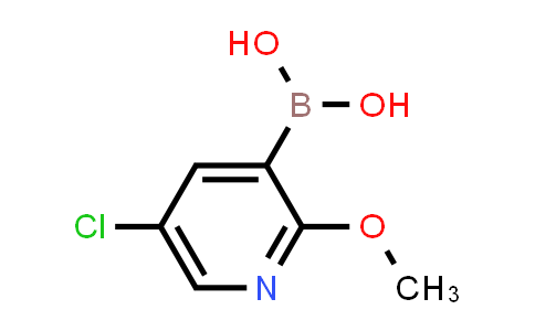 (5-CHLORO-2-METHOXYPYRIDIN-3-YL)BORONIC ACID