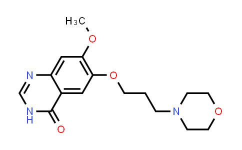 7-Methoxy-6-(3-morpholin-4-yl-propoxy)-3H-quinazolin-4-one