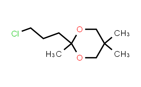 2-(3-chloropropyl)-2,5,5-trimethyl-1,3-dioxane