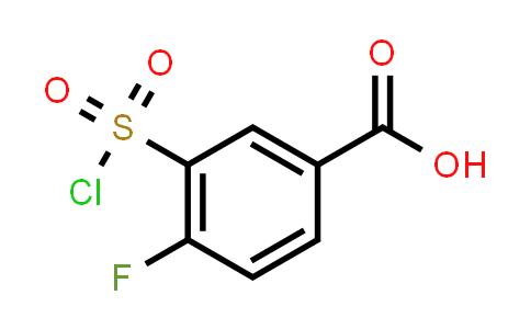 3-CHLOROSULFONYL-4-FLUORO-BENZOIC ACID