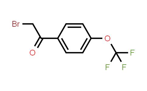 4-(TRIFLUOROMETHOXY)PHENACYL BROMIDE