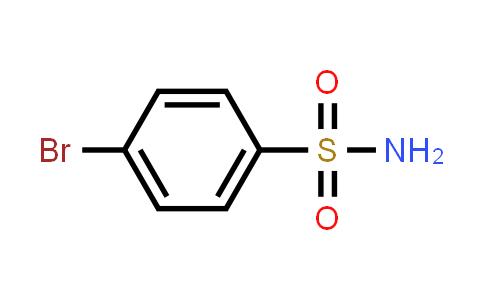 4-Bromobenzenesulfonamide