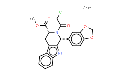 (1R,3R)-METHYL-1,2,3,4-TETRAHYDRO-2-CHLOROACETYL-1-(3,4-METHYLENEDIOXYPHENYL)-9H-PYRIDO[3,4-B]INDOLE-3-CARBOXYLATE