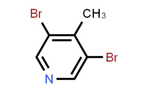 3,5-Dibromo-4-methylpyridine