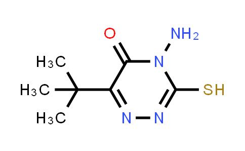 4-Amino-6-(tert-butyl)-3-mercapto-1,2,4-triazin-5(4H)-one