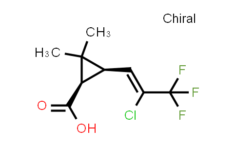 Z-(1R,S)-cis-2,2-dimethyl-3-(2,2-chloro-3,3,3-trifluoro-1-propenyl)cyclopropanecarboxylic acid