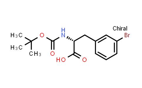 (R)-N-Boc-3-Bromophenylalanine