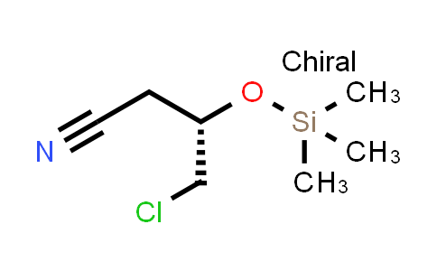(3S)-4-Chloro-3-[(triMethylsilyl)oxy]butanenitrile