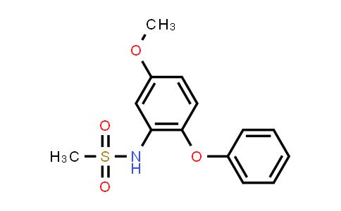 MethanesulfonaMide, N-(5-Methoxy-2-phenoxyphenyl)-
