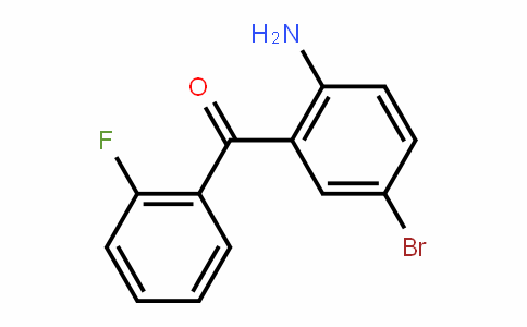 2-Amino-2'-fluoro-5-bromobenzophenone