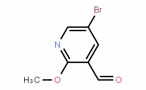 5-Bromo-2-methoxypyridine-3-carbaldehyde