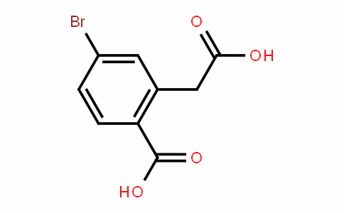 4-bromo-2-(carboxymethyl)benzoic acid