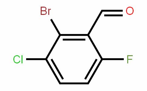 2-bromo-3-chloro-6-fluorobenzaldehyde