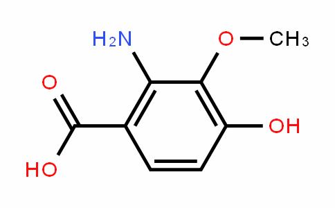 2-Amino-4-hydroxy-3-methoxybenzoic acid