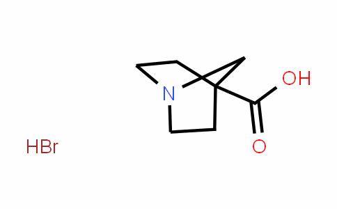 1-azabicyclo[2.2.1]heptane-4-carboxylic acid hydrobromide