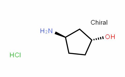 (1R,3R)-3-aminocyclopentanol hydrochloride