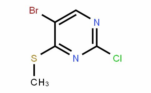 5-Bromo-2-chloro-4-(methylthio)pyrimidine