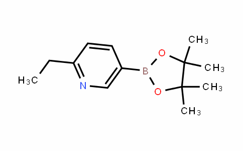 2-ethyl-5-(4,4,5,5-tetramethyl-1,3,2-dioxaborolan-2-yl)pyridine