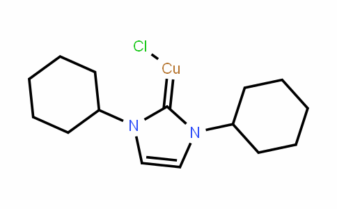 (1,3-dicyclohexyl-1H-imidazol-2(3H)-ylidene)copper(III) chloride