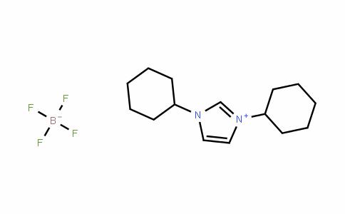 1,3-Dicyclohexyl-1H-imidazol-3-ium tetrafluoroborate