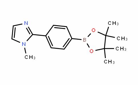 1-methyl-2-(4-(4,4,5,5-tetramethyl-1,3,2-dioxaborolan-2-yl)phenyl)-1H-imidazole