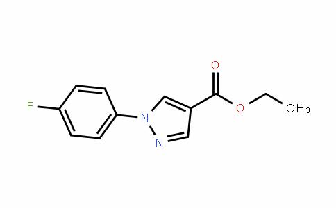 ethyl 1-(4-fluorophenyl)-1H-pyrazole-4-carboxylate