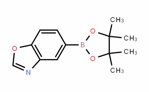 5-(4,4,5,5-tetramethyl-1,3,2-dioxaborolan-2-yl)benzo[d]oxazole