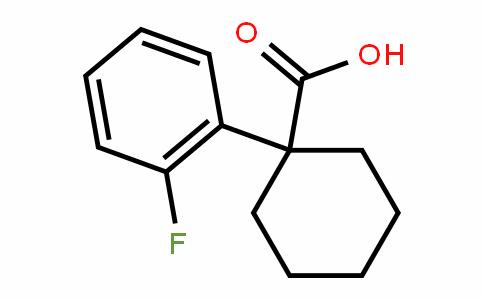 1-(2-Fluorophenyl)cyclohexanecarboxylic acid
