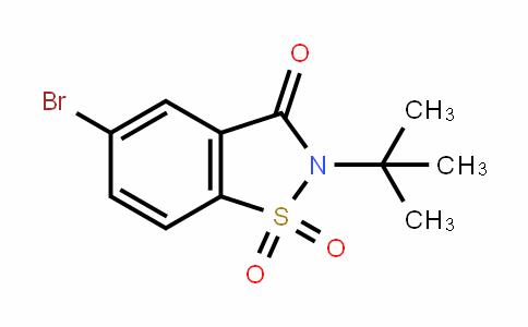 5-bromo-2-(tert-butyl)benzo[d]isothiazol-3(2H)-one 1,1-dioxide