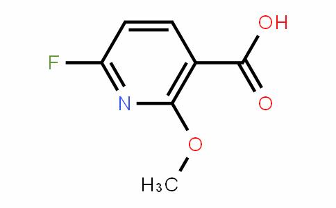 6-fluoro-2-methoxynicotinic acid