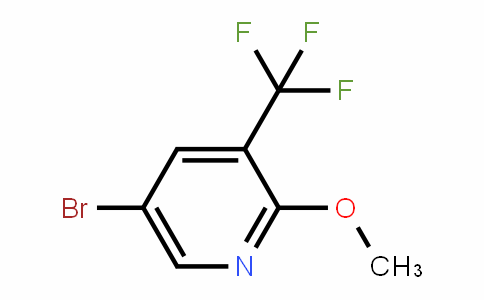 5-bromo-2-methoxy-3-(trifluoromethyl)pyridine