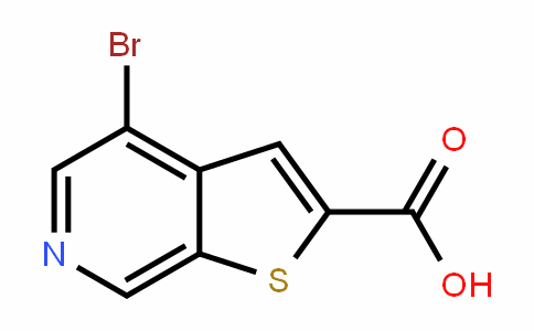 4-bromothieno[2,3-c]pyridine-2-carboxylic acid