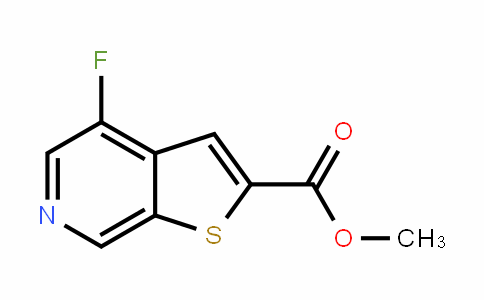 methyl 4-fluorothieno[2,3-c]pyridine-2-carboxylate