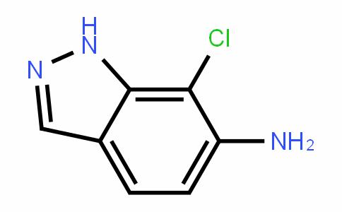 7-chloro-1H-indazol-6-amine
