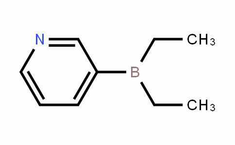 3-(Diethylboryl)pyridine