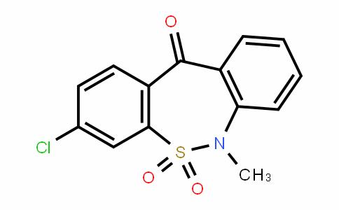3-Chloro-6-methyl-dibenzo[c,f][1,2]thiazepin-11(6H)-one 5,5-dioxide