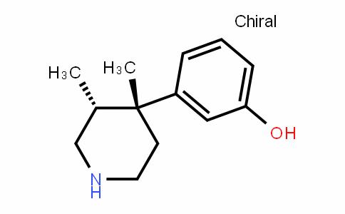 (3R,4R)-3,4-Dimethyl-4-(3-hydroxyphenyl)piperidine