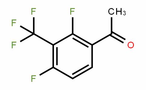 1-(2,4-difluoro-3-(trifluoromethyl)phenyl)ethanone