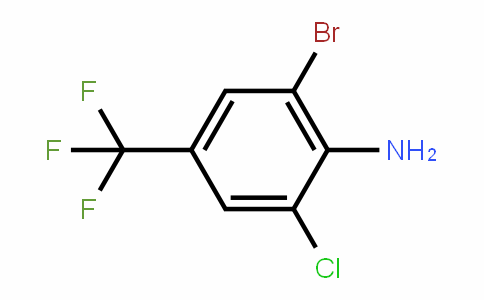2-Bromo-6-chloro-4-(trifluoromethyl)aniline